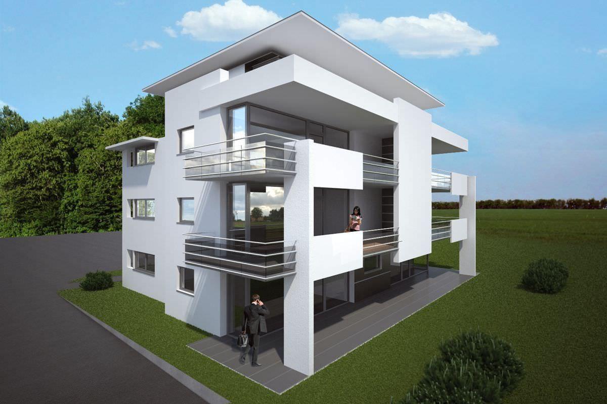 Mehrfamilienhaus renningen kittelberger architekt for Haus bauen architekt